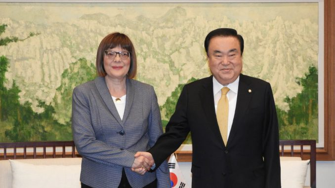 Potpisan Memorandum o razumevanju Srbije i Koreje 1