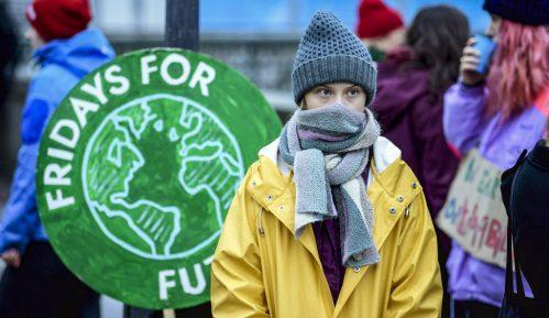 Greta se vratila pred Parlament Švedske: 70. školski štrajk 12