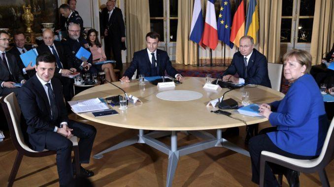 U Parizu počeo samit o okončanju rata na istoku Ukrajine 1