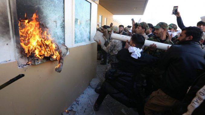 SAD šalju dodatne snage da štite ambasadu u Iraku 2