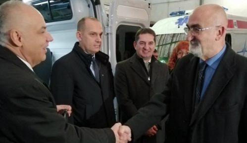 Beogradska Hitna pomoć i četiri doma zdrava dobili nova sanitetska vozila 12