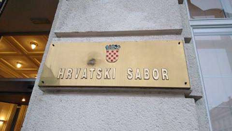 Raspuštanje Hrvatskog sabora uz protest 15