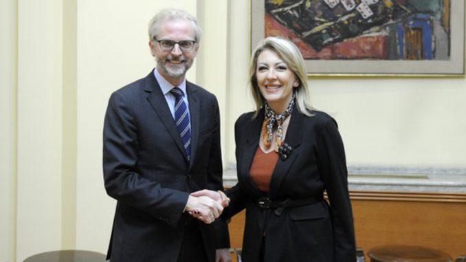 Joksimović i ambasador Austrije o nastavku evropskog puta Srbije 1