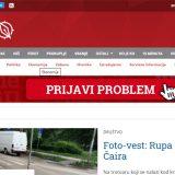 """Reporteri bez granica osudili kampanju kleveta protiv protala """"Južne vesti"""" 9"""