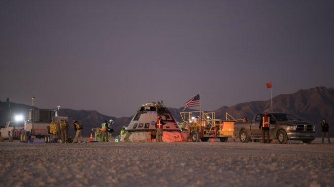 Boingova kapsula se vratila na Zemlju nakon neuspelog lansiranja 4