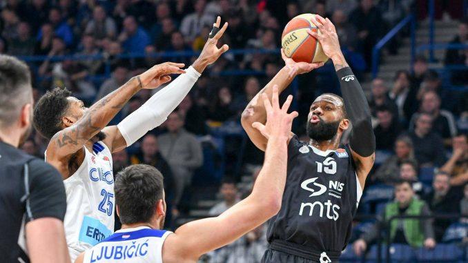 Košarkaši Partizana ubedljivo pobedili Cibonu 1