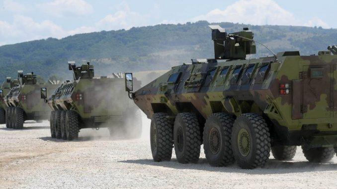 MOD: Počela obuka na Lazaru 3 i BRDM-2MS 2