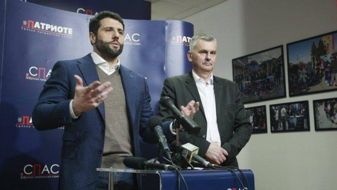Šapić i Stamatović doneli odluku o udruženom izlasku na lokalne izbore 1