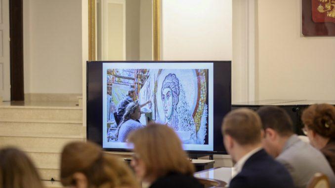 Završena izrada dela mozaika u Hramu Svetog Save 4