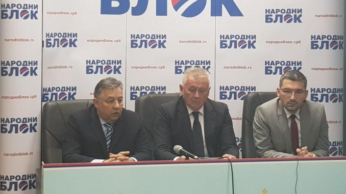 Narodni blok: Nećemo na režirani sastanak sa Vučićem 1