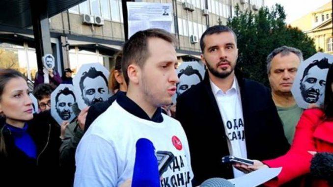 Građani predali Zagorki Dolovac peticiju za oslobađanje Obradovića (VIDEO) 1