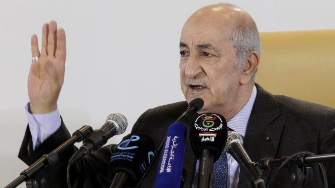 Novi predsednik Alžira u četvrtak polaže zakletvu, na demonstracijama deset povređeno 1