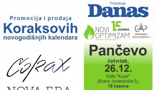 """Promocija Koraksovog kalendara """"Nova era"""" 26. decembra u Pančevu 4"""