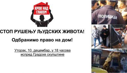 """Protest """"Stop rušenju ljudskih života"""" sutra ispred Skupštine grada Beograda 8"""