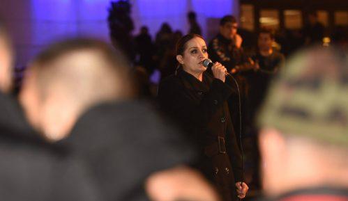 Protest u Novom Sadu: RTS je samo partijsko glasilo (FOTO) 9