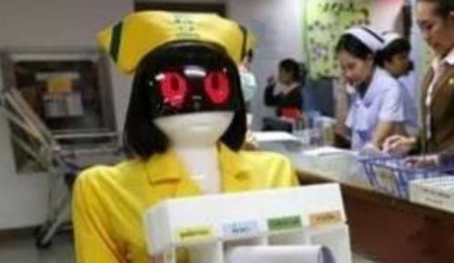 Roboti se brinu o pacijentima na Tajlandu 3