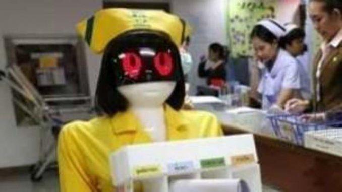 Roboti se brinu o pacijentima na Tajlandu 4