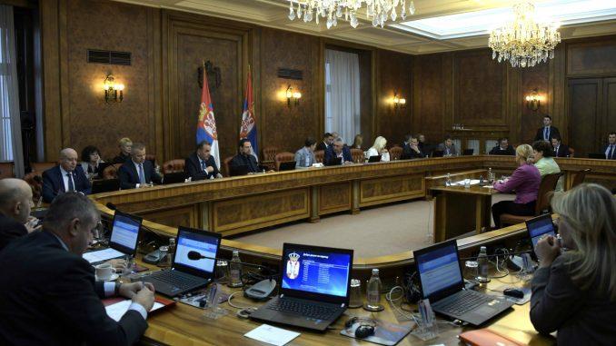 Vlada Srbije o otklanjanju posledice poplava, granicama, građevinarstvu, biogorivu, radnim mestima 2