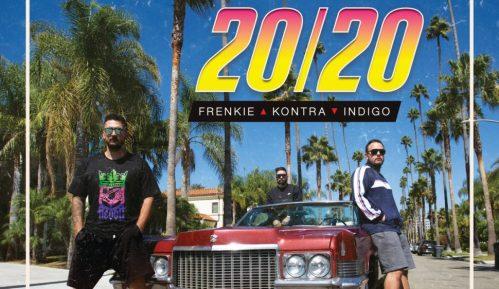 "Frenkie, Kontra i Indigo izbacili novi album ""20/20"" sniman u Los Anđelesu 13"
