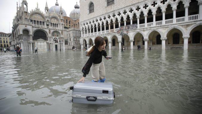 Hoteli u Veneciji pretrpeli štetu od 30 miliona evra zbog poplava 2