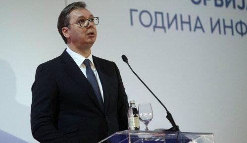 """Vučić odgovarajući na pitanje o Branku Stefanoviću optužio N1 da je """"prenosilac hajke"""" 7"""