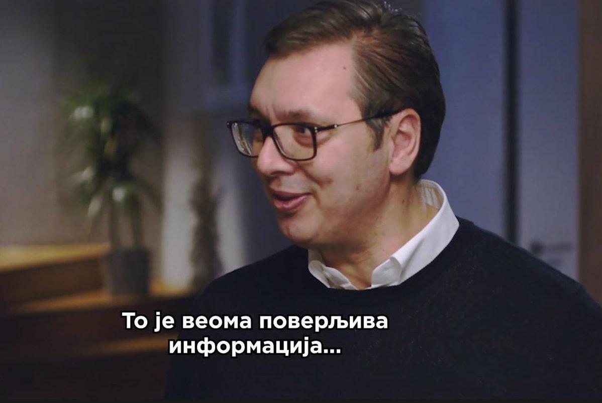 Kako Vučić čestita Novu godinu na društvenim mrežama (VIDEO) 1