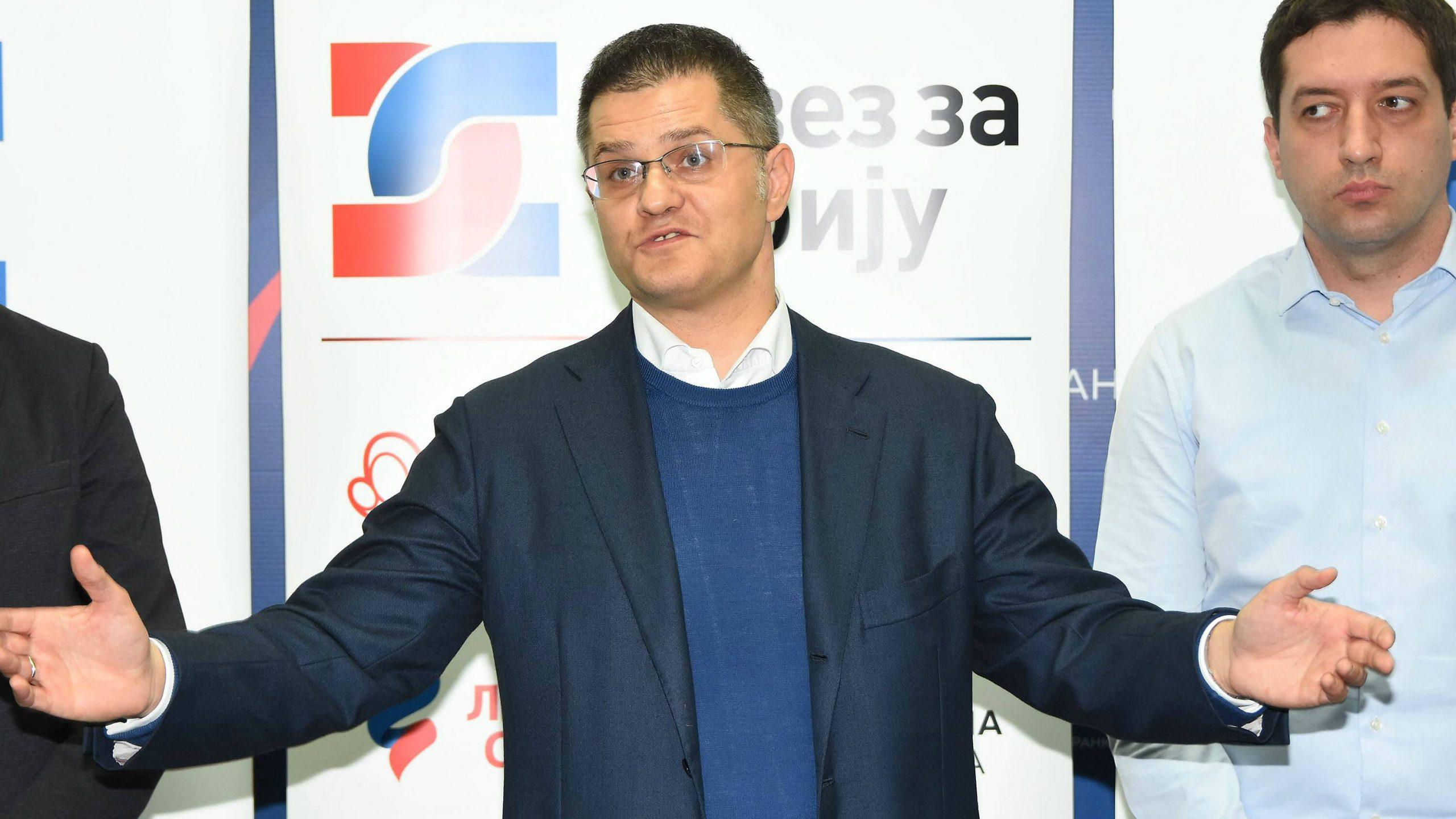 Jeremić: Savez za Srbiju neće preuzimati proteste 1