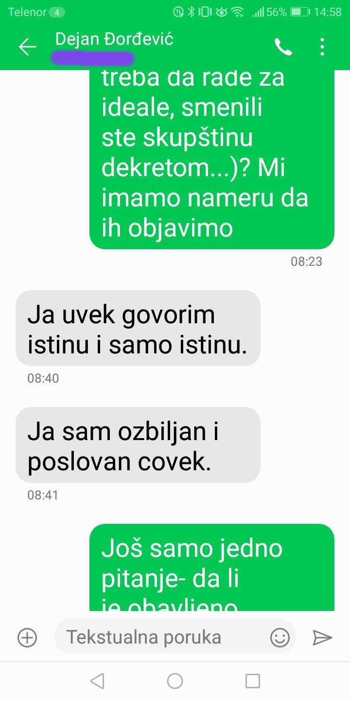 Novinarka Danasa: Đorđević je odgovorio na pitanja, postoje dokazi (FOTO) 11