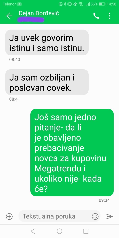 Novinarka Danasa: Đorđević je odgovorio na pitanja, postoje dokazi (FOTO) 12