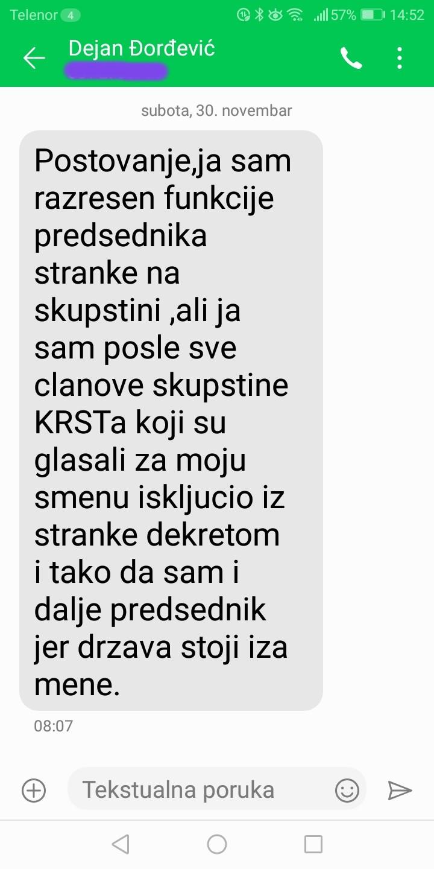 Novinarka Danasa: Đorđević je odgovorio na pitanja, postoje dokazi (FOTO) 6
