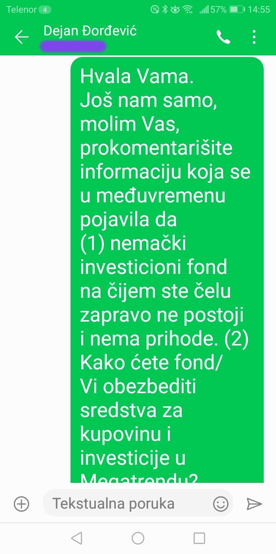 Novinarka Danasa: Đorđević je odgovorio na pitanja, postoje dokazi (FOTO) 8