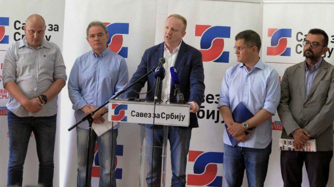 Đilas: Savez za Srbiju ostaje pri bojkotu 2
