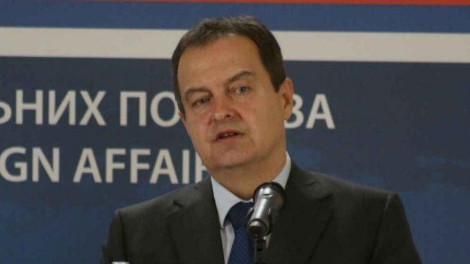 Dačić: Vodeće zemlje da utiču na Prištinu da odustane od lobiranja za međunarodno priznanje Kosova 1