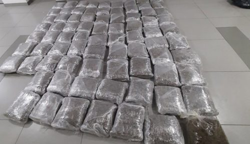 MUP u Beogradu zaplenio 80 kilograma marihuane 11