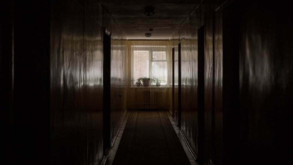 Inside our Chernobyl hotel