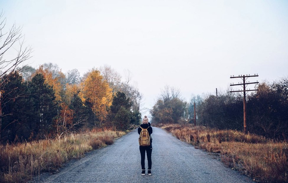 Victoria Gill in the Chernobyl Exclusion Zone