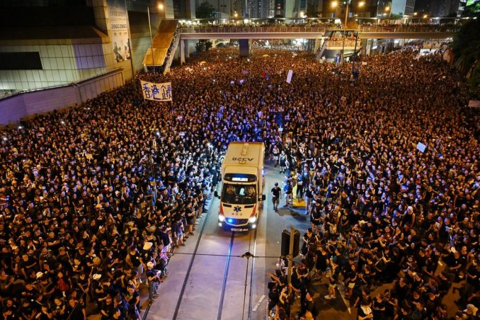 Kina i Hongkong: Godina besa i očaja 2