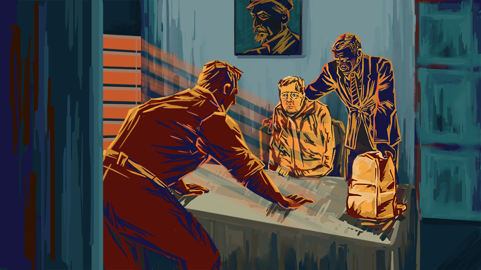 Inside the FSB office