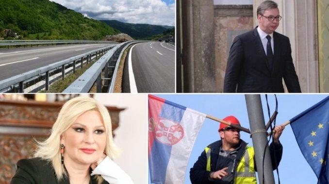 Plata 500 evra, EU pred vratima, autoputevi: Šta su obećavali - šta su ispunili, a šta nisu 4