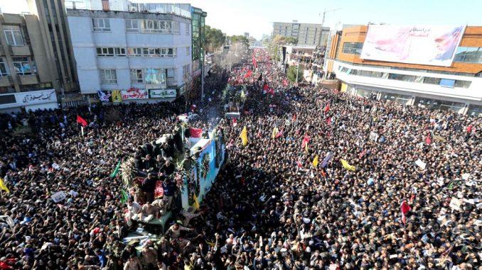 Stampedo na Sulejmanijevoj sahrani - 50 mrtvih, više od 200 povređenih 4