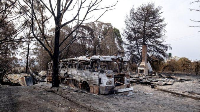 Požari u Australiji: Borba sa mega plamenom u blizini Snežnih planina 4