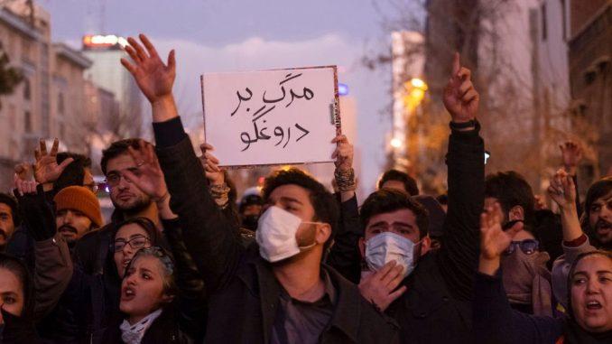 """Iran, avionska nesreća i protesti: Da li je ovo """"trenutak otrežnjenja"""" za građane 4"""
