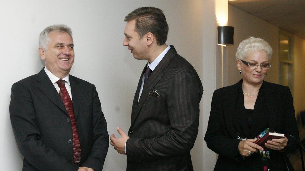 Nikolić, Vučić, Tabaković