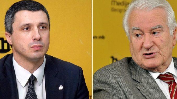 Dragoljub Mićunović i Boško Obradović: Zašto nastaju sukobi na opozicionom nebu Srbije 2