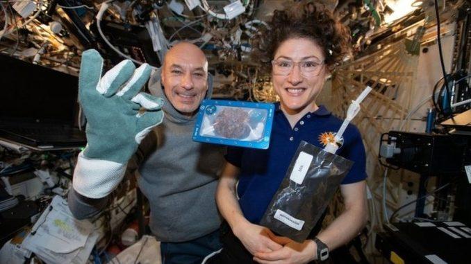 Svemirski kolačići - astronauti prvi put pekli hranu u svemiru 3