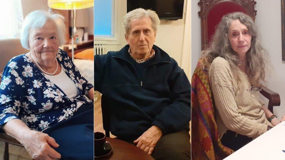 Eva Čavčić, Aleksandar Gaon i Danijela Danon