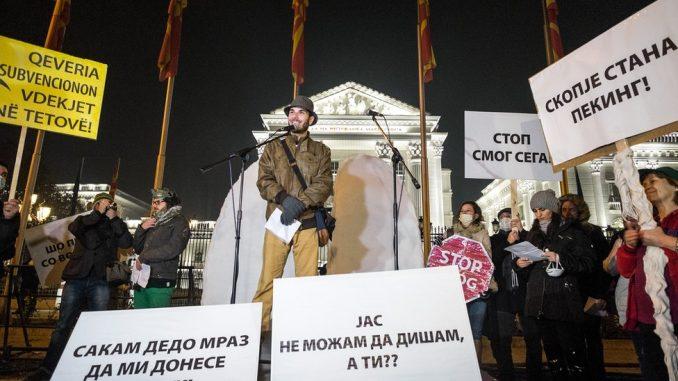 Zagađenje vazduha: Kako izgleda višegodišnja borba u Skoplju 2
