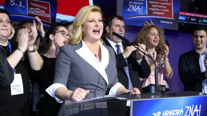 Grabar Kitarović očekuje pobedu u nedeljnim izborima u Hrvatskoj 3