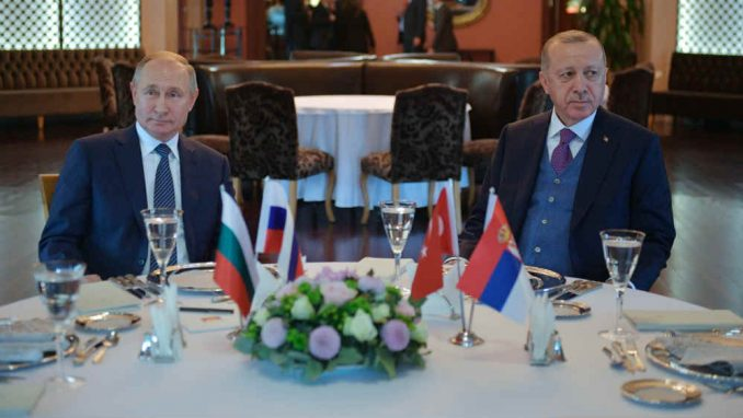 Erdogan i Putin razmotrili mogućnost da se uskoro sastanu zbog Sirije 1