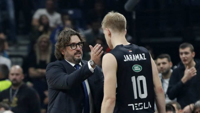 Partizan ubedljivio pobedio Zadar 1
